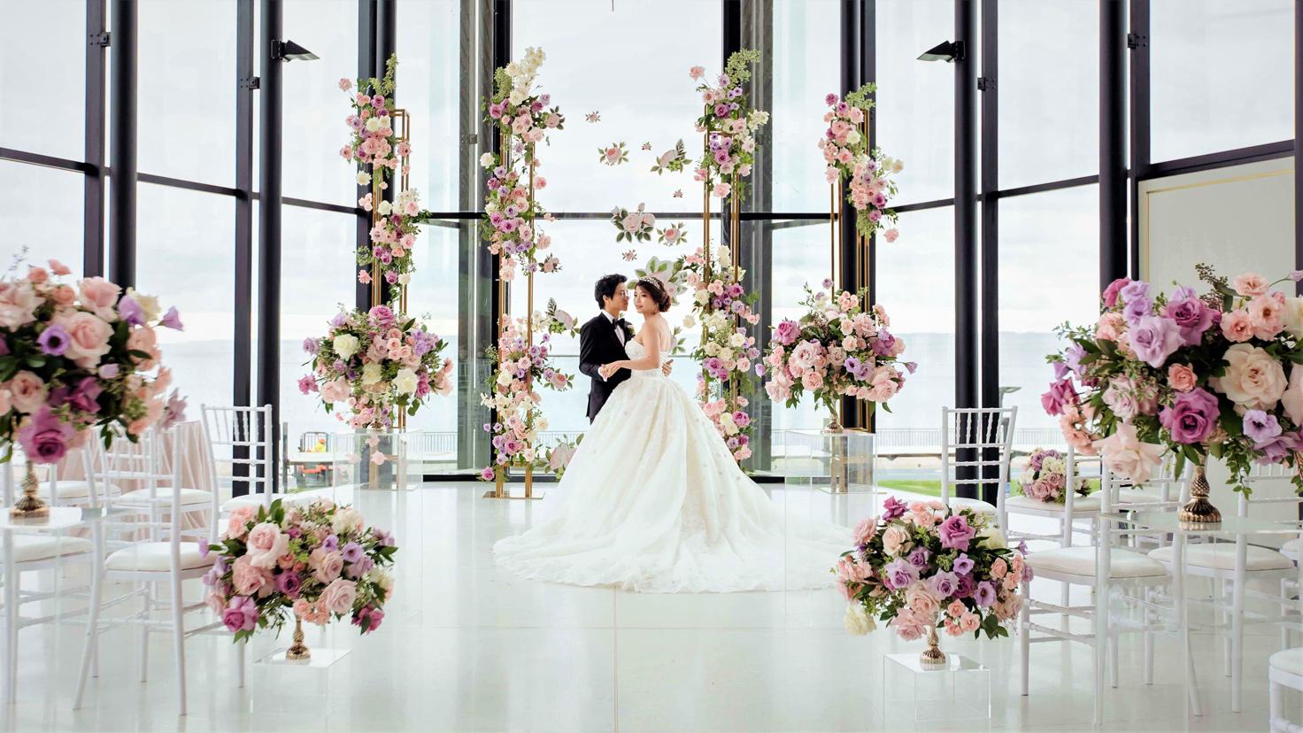 Esküvők virágai – avagy milyen virágdíszekre lesz szükséged a nagy napon?